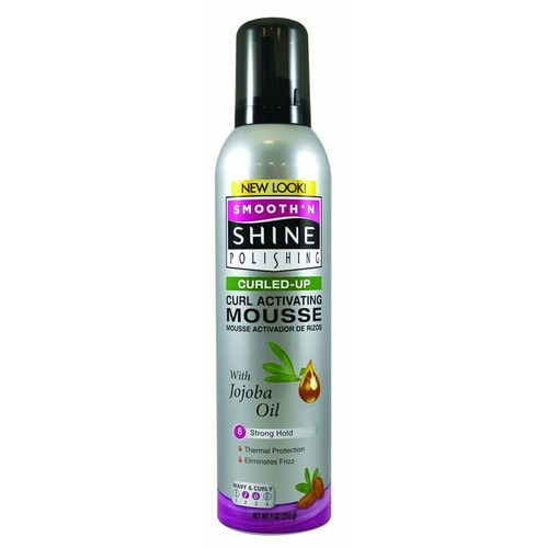 Smooth N Shine Curling Mousse, 9-Ounce [9 Ounce, Curling]