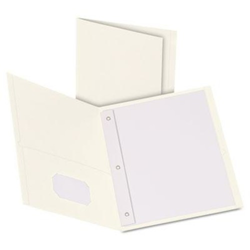Oxford Twin-Pocket Folder with Prong Fasteners