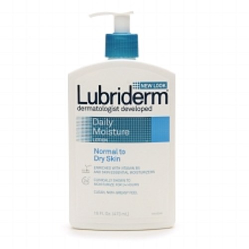 Lubriderm Daily Moisture Lotion for Normal to Dry Skin