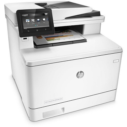 HP Inc. Color LaserJet Pro MFP M477fdn Printer (CF378A#BGJ)