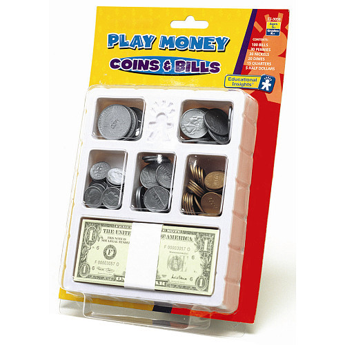 Educational Insights Let's Pretend Play Money