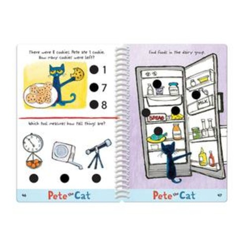 Educational Insights Hot Dots Junior Pete the Cat Kindergarten Rocks! Learning S