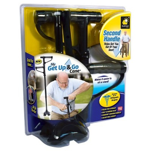 My Get Up & Go Cane - TV Second Handle Helps Get You Out of Your Seat!