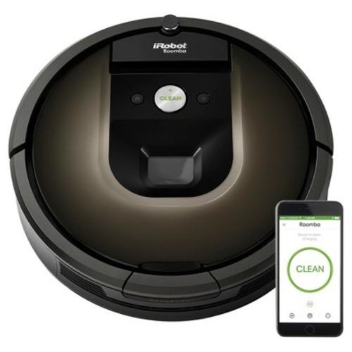 iRobot - Roomba 980 App-Controlled Self-Charging Robot Vacuum - Black