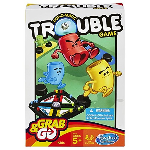 Pop-O-Matic Trouble Grab & Go Game
