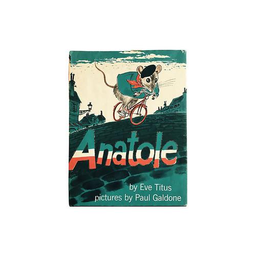 brandywine bookshop Anatole, 1956
