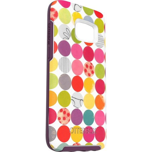 OtterBox - Symmetry Series Graphics Case for Samsung Galaxy S7 Cell Phones - Gumballs