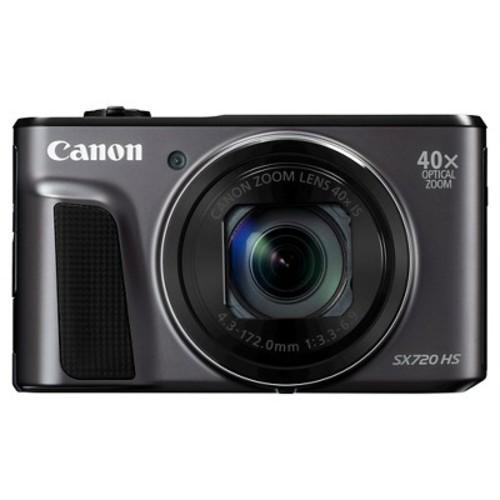 Canon - PowerShot SX720 HS 20.3-Megapixel Digital Camera - Black
