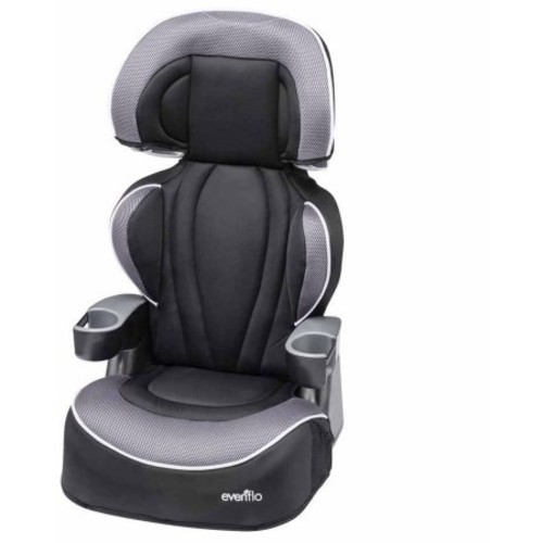 Evenflo Big Kid LX High Back Booster Car Seat, Tuxedo