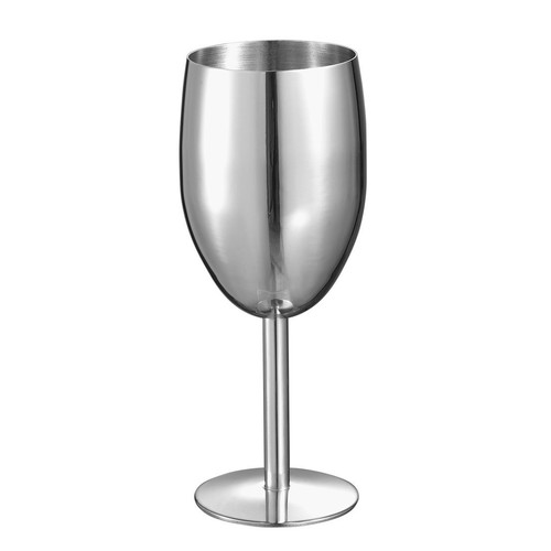 Visol Jacqueline Stainless Steel Champagne Glass [Pack of 1]