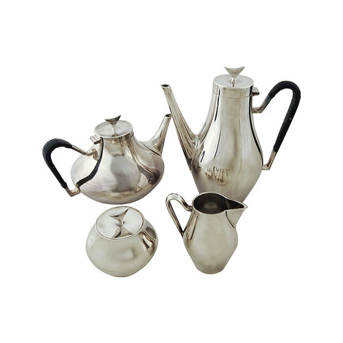 Modernist Tea & Coffee Set, 4 Pcs