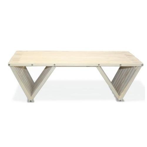 Glodea XQuare Coffee Table; Bride's Veil