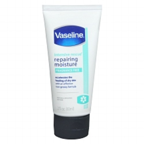 Vaseline Intensive Rescue Repairing Moisture Lotion Fragrance Free