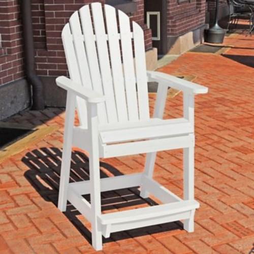 Longshore Tides Deerpark Dining Arm Chair; White