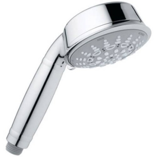 Grohe 27125000 Relexa Rustic 100 Hand Shower with 5 Sprays, Available in Various Colors