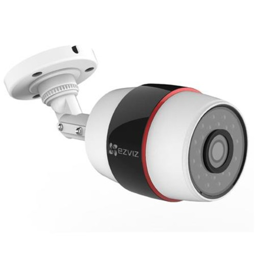 EZVIZ Husky HD 1080p Outdoor Wi-Fi Video Security Camera, 16GB MicroSD EZHUSKYG16