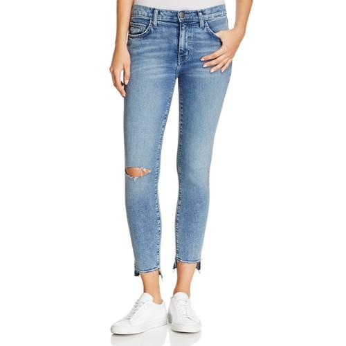 CURRENT/ELLIOTT The Stiletto High-Rise Jeans In Balsa Destroy