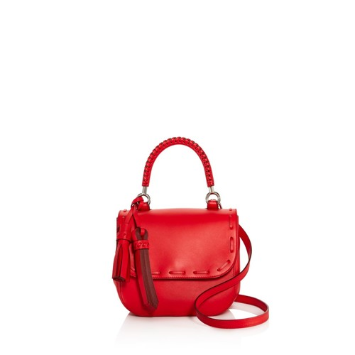 MAX MARA Stitch Small Leather Satchel