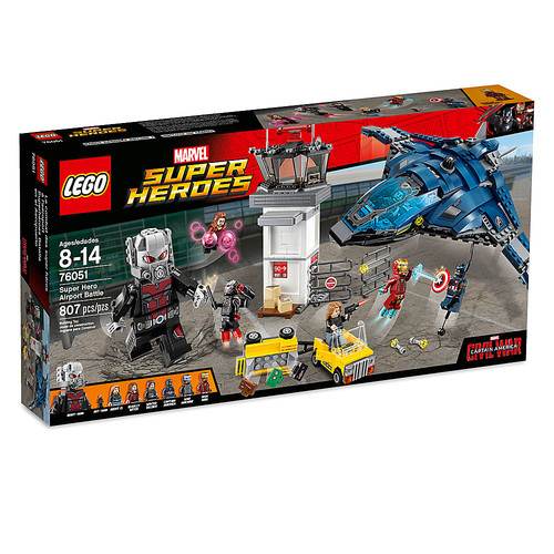 Super Hero Airport Battle Playset by LEGO - Captain America: Civil War