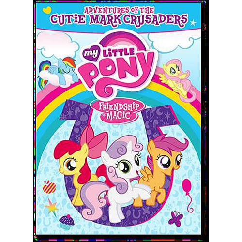 My Little Pony Friendship is Magic: Adventures of the Cutie Mark Crusaders DVD