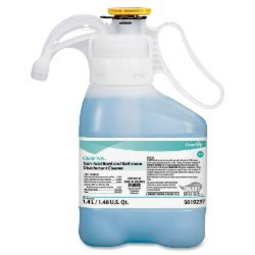JohnsonDiversey Non-Acid Restroom Cleaner, 47.36 Oz., Floral Scent