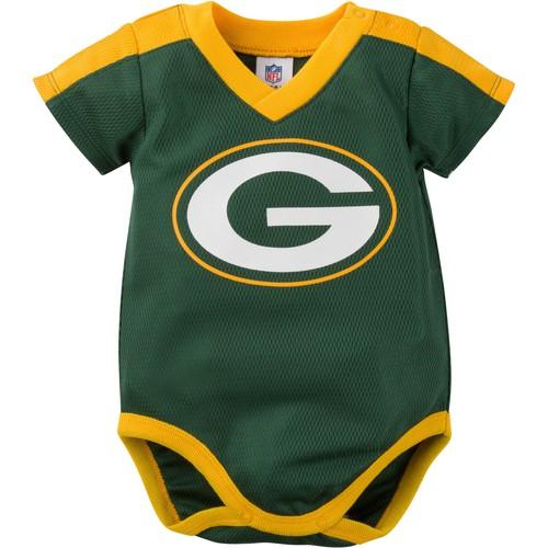 Gerber Infant Green Bay Packers Dazzle Onesie