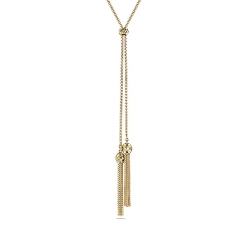 Renaissance Tassel Necklace with 18K G