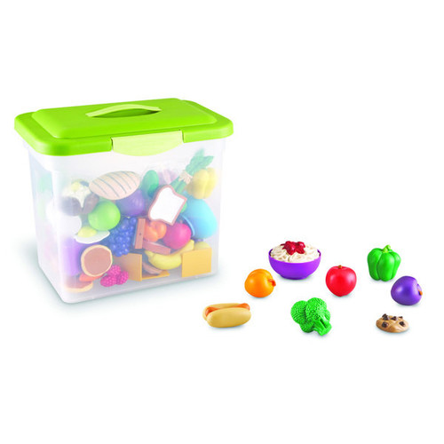 Sprouts Classroom Play Food Set in Large Tote