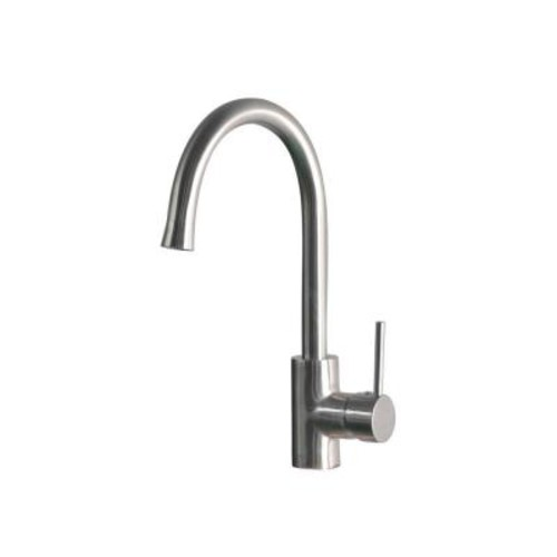 Mono Block Single-Handle Bar Faucet in Stainless Steel [SS-WHLX78572; Stainless Steel]