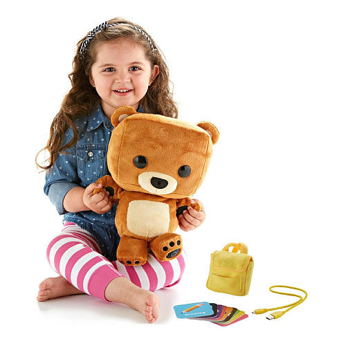 Fisher-Price Smart Interactive Bear Toy