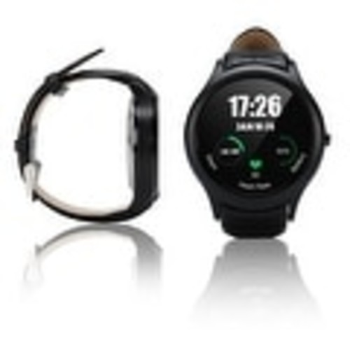 Indigi A6 Bluetooth 4.0 SmartWatch & Phone - Android 4.4 + Heart Monitor + Pedometer + WiFi (iOS & Android Compatible)