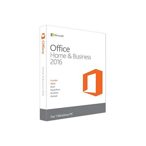 Microsoft Office for Home and Business 2016 - English, medialess  T5D-02375