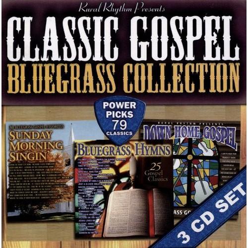 Classic Gospel Bluegrass Collection : 79 Classics [CD]