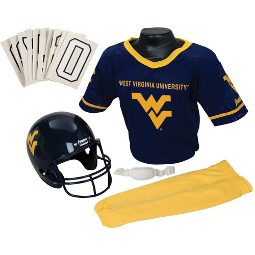 Franklin West Virginia Mountaineers Deluxe Uniform Set