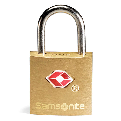 Samsonite Brass Key Lock 2-pk.