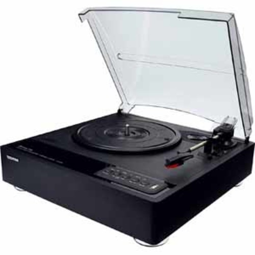 Toshiba Bluetooth Stereo Turntable - Black