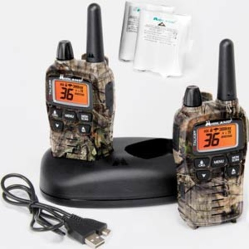 MIDLAND T-75VP3 X-TALKER GMRS TWO-WAY RADIO W/ CLEAR BAND TECHNOLOGY UP TO 38 MILE RANGE