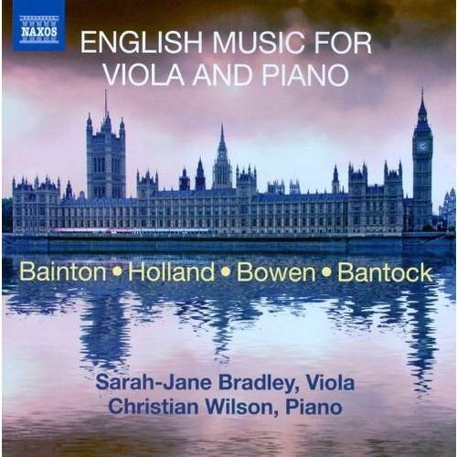 English Music for Viola and Piano [CD]