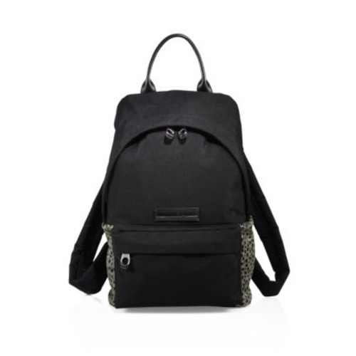 MCQ ALEXANDER MCQUEEN Leather Trimmed Backpack