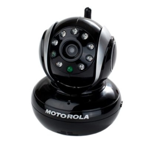 Motorola Blink1 Wi-Fi Video Camera for Remote Viewing with iPhone and Android Smartphones and Tablets, Black [Black]
