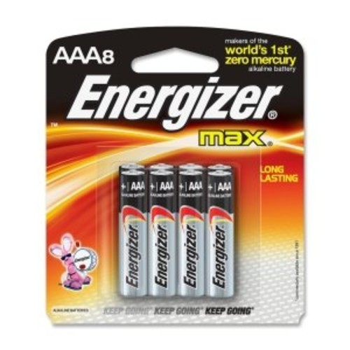 Energizer Max Premium AAA Batteries, Alkaline Triple A Battery (8 Count) E92MP-8
