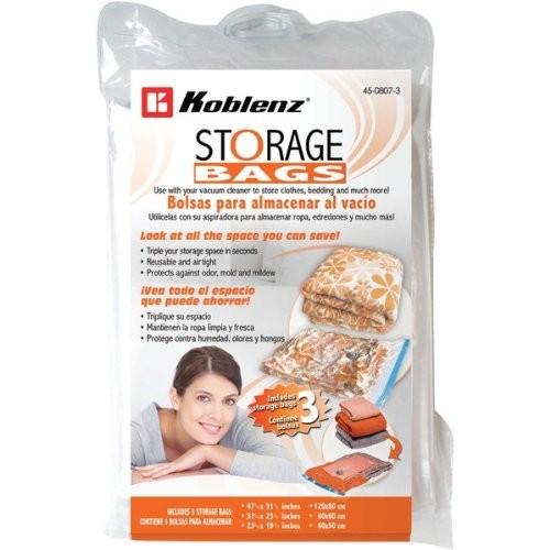KOBLENZ 45-0807-3 Space-Saving Storage Bags