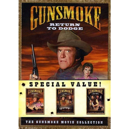 Gunsmoke Movie Collection: (Return to Dodge/The Last Apache/To the Last Man)