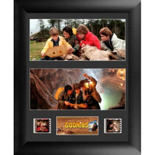 The Goonies Double FilmCell Presentation Framed Vintage Advertisement
