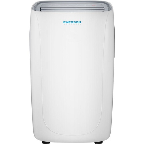 Emerson Quiet Kool 10,000 BTU 115-Volt Portable Air Conditioner with Dehumidifier Function and Remote in White