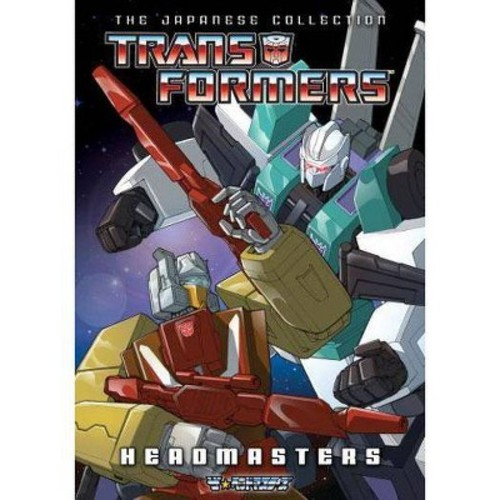 Transformers: Headmasters - The Japanese Collection [4 Discs]