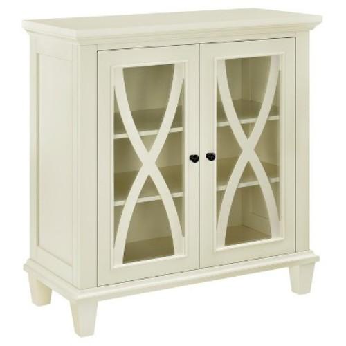Altra Furniture Ellington 2 Door Black Accent Cabinet