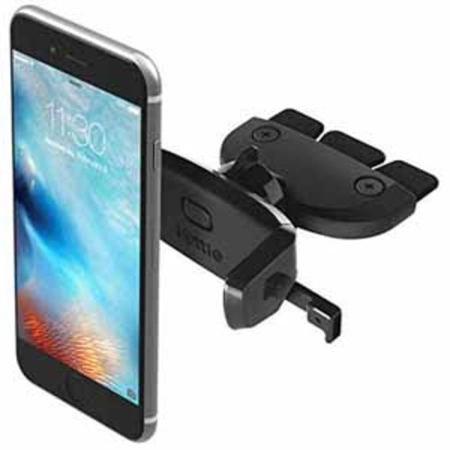 iOttie Easy One Touch Mini CD Slot Universal Car Mount Holder Cradle for iPhone 6s/6, Galaxy S6/S6 Edge, and Other Smartphones