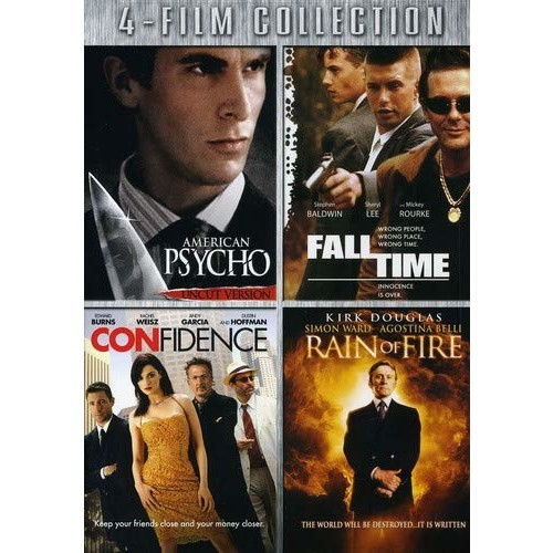 Four-Film Collection: (American Psycho / Fall Time / Confidence / Rain of Fire)