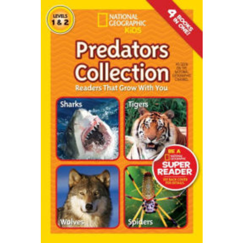 Predators Collection: Readers That Grow With You (National Geographic Readers Series)